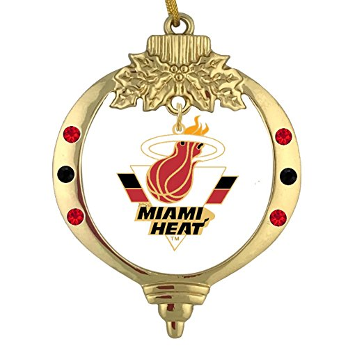 Final Touch Gifts Miami Heat Christmas Ornament -