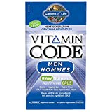 Garden of Life Vitamin Code Raw Men - Next Generation UltraZorbe Vcaps, 60 Count