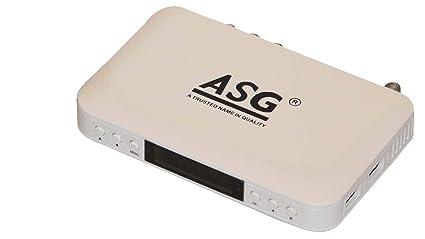 ASG HD Set Top Box 101 (White)