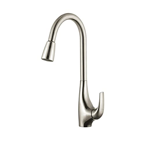 Kraus Single Lever Pull Down Kitchen Faucet