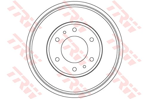 TRW DB4423 Brake Drums:
