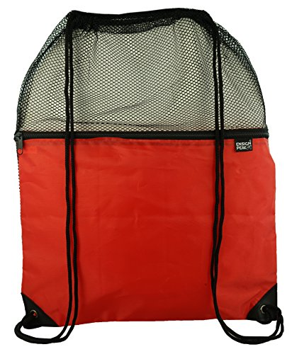 Ensign Peak Mesh Drawstring Backpack