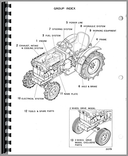 satoh s370d tractor parts manual: satoh manuals: 6301147752567: amazon.com:  books  amazon