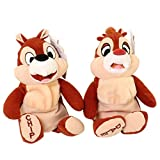 "Disney's Chip and Dale 7"" Chipmunks Bean Bag Plush Set"