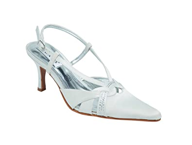 d6443d5faf7 Ladies Lexus Bridal Sandal with Elegant DiamantÚ Trim in Ivory ...