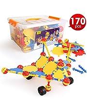 LBLA Costruzioni per Bambini Giocattolo Educativi per Bambino 6 Anni,Giocattolo Bambina 8 7 5 Anni ,Costruzioni Bambini Giochi Creativo 170 Pezzi