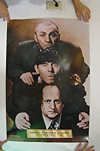 The Three Stooges Poster 3 Dewey Cheatem and Howe