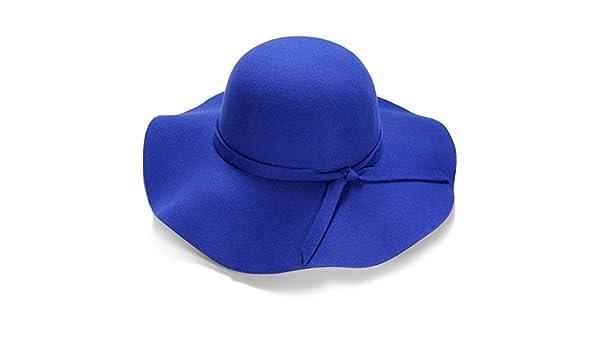 Sombreros de pesca Las Mujeres encapuchadas británicas Europeos Retro y alas  Americanas del Tablero de la luz del Sombrero del Jazz Salvaje f1d450f6986