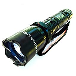 Best Tactical Police LED Triple Mode Taser Flashlight Stun Gun with Disabling Pin Rechargeable