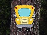 Olga212Patrick Bus Door Hanger Back to School Door Hanger Custom Door Hanger Teacher giftteacher Door Sign Door Decor Door Wall hangingteacher Name
