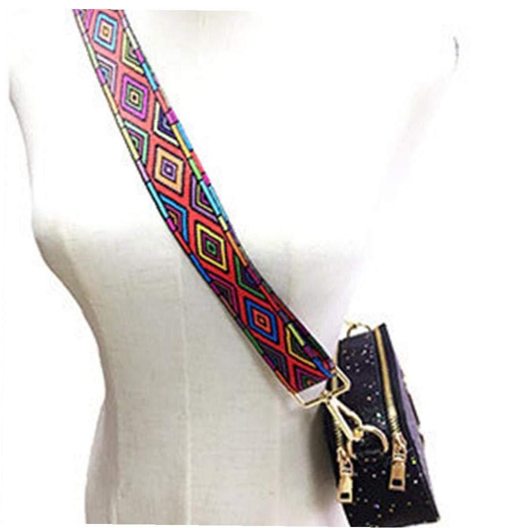 Breite Schultergurt Adjustable Ersatz G/ürtel Cross Body Tasche Handtaschen Zubeh/ör f/ür Female