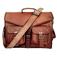 "Leather Messenger Bag 15"" Leather ABB Laptop Bag Eco Friendly Leather Bag"
