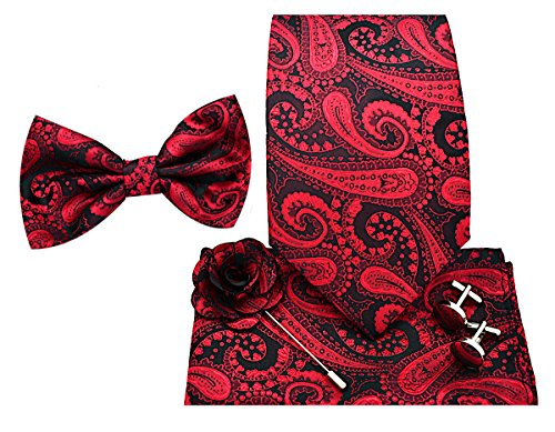(Oliver George 5pc Box Set (Paisley-Red/Black-H))