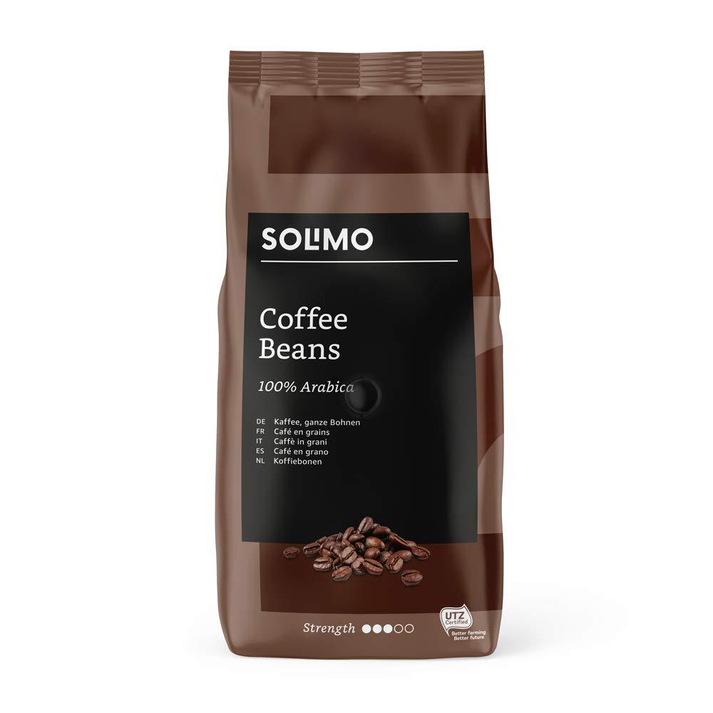 Marca Amazon - Solimo Granos de café