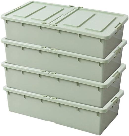 Zago Titular de Archivo Cama Caja de Almacenamiento Ropa Armario Caja de Acabado Puerta Doble Caja de Almacenamiento Libros de Oficina Caja de Almacenamiento de usos múltiples Revistero de Malla: Amazon.es: Hogar