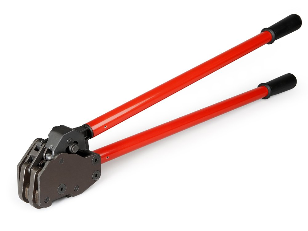 Teknika MUL-430 Heavy Duty Dual-Action Sealer for Steel Strapping, 1-1/4'' Strap Width