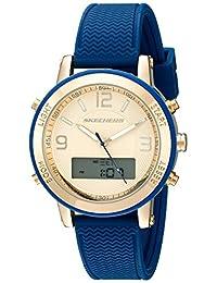 Skechers Women's SR6003 Analog-Digital Display Quartz Blue Watch