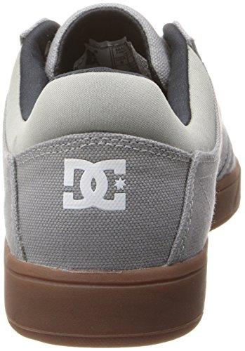 DC Mens Crisis TX Lace-Up Fashion Sneaker Wild Dove NIEJV3