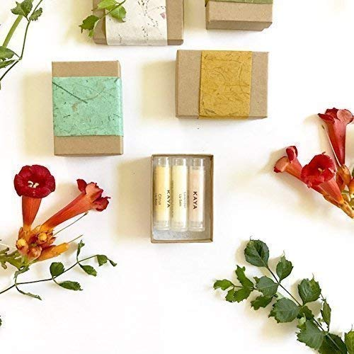 Kaya Natural & Organic Lip Balms