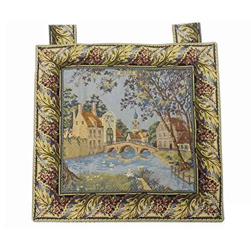 (Mybecca Still Life Scenery Tapestry, Decorative Wall Hanging Drapery, 24