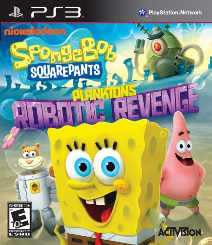 SpongeBob SquarePants: Plankton's Robotic Revenge - Playstation 3 (Ps3 Games Spongebob)