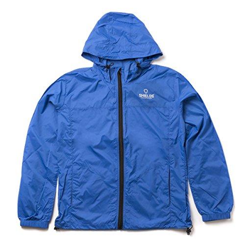 SHIELDS(シールズ) パーカー アウター Sports Wear ライト ウィンドブレーカー M-BK-01-02 ブルー XL
