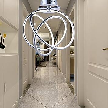Ymxjb kreative led decke licht anhänger kronleuchter dekor perfekt ...
