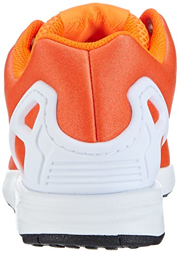 adidas Zx Flux - Zapatillas unisex Solar Orange/Solar Orange/Core Black