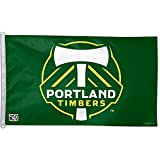 PORTLAND TIMBERS OFFICIAL LOGO 3FTX5FT BANNER FLAG