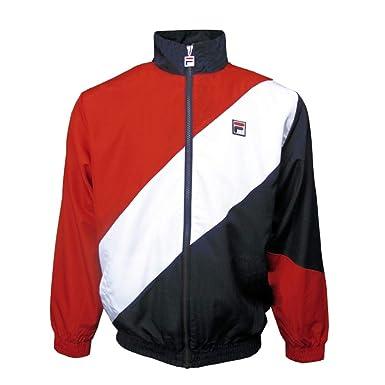 8d7509352 Fila Vintage Mens Cruz Archive Windbreaker Jacket at Amazon Men's ...