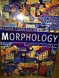 Morphology, Katamba, Francis, 0312103565