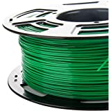 3DDPLUS 1.75mm PLA 3D Printer Filament Green- 1kg Spool (2.2 lbs) - Dimensional Accuracy +/- 0.03mm