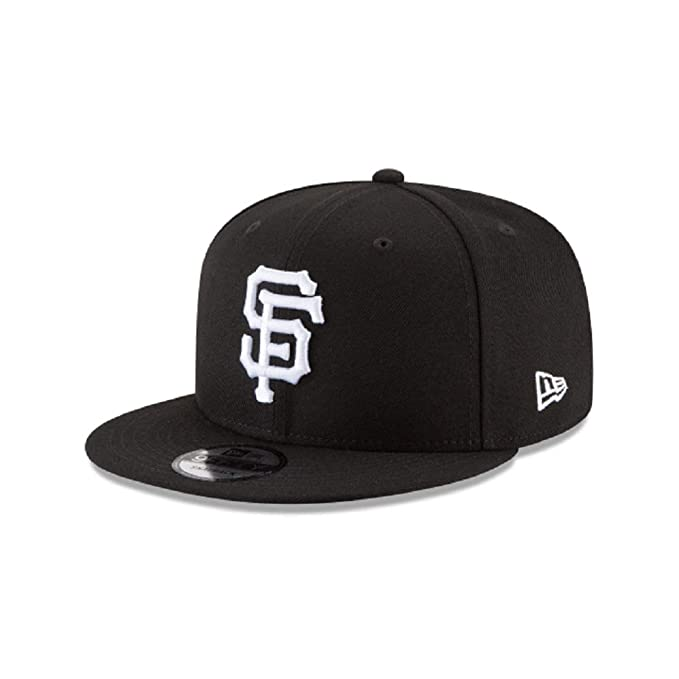 de17dcaa533 Image Unavailable. Image not available for. Color  New Era San Francisco  Giants Black White 950 Snapback Adjustable Cap