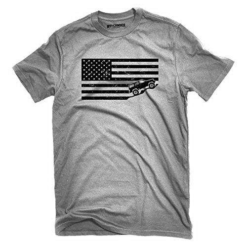 American Flag Jeep Cherokee XJ T-Shirt