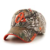 MLB Baltimore Orioles Frost MVP Adjustable Hat, One Size, Realtree Camouflage