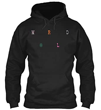 ed8d44737450 Amazon.com: OystersPearl Astroworld Scattered Sweatshirt - 50% Cotton, 50%  Polyester - 8Oz Heavy Blend Hoodie Pullover: Clothing