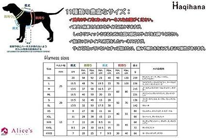 Haqihana - Arnés multicolor para perro (talla M): Amazon.es ...