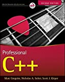 img - for Professional C++ by Marc Gregoire (2011-10-04) book / textbook / text book