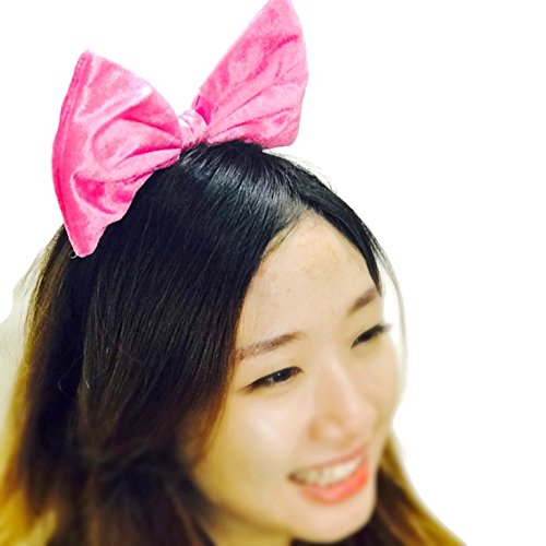 Price comparison product image Sparking Bow Headband: H2 (Velvet Pink)