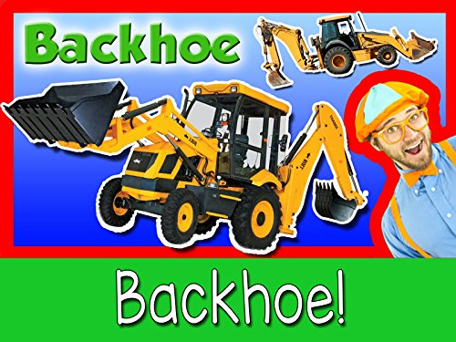 Your Video (Explore A Backhoe Excavator with Blippi - Construction Trucks for Children)