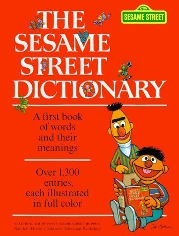 The Sesame Street Dictionary by Hayward, Linda published by Random House Audiobooks (1981) ()