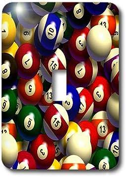 3dRose LSP 962 _ 1 bolas de billar piscina – Single Toggle ...