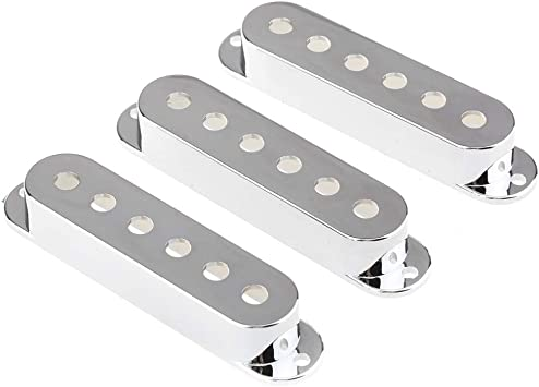Set of 3 Plastic Pickup Covers for Stratocaster Set 1