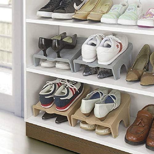 Shoe Racks Adjustab Double Storage Shoes Rack Convenient Shoe Organizer Stand