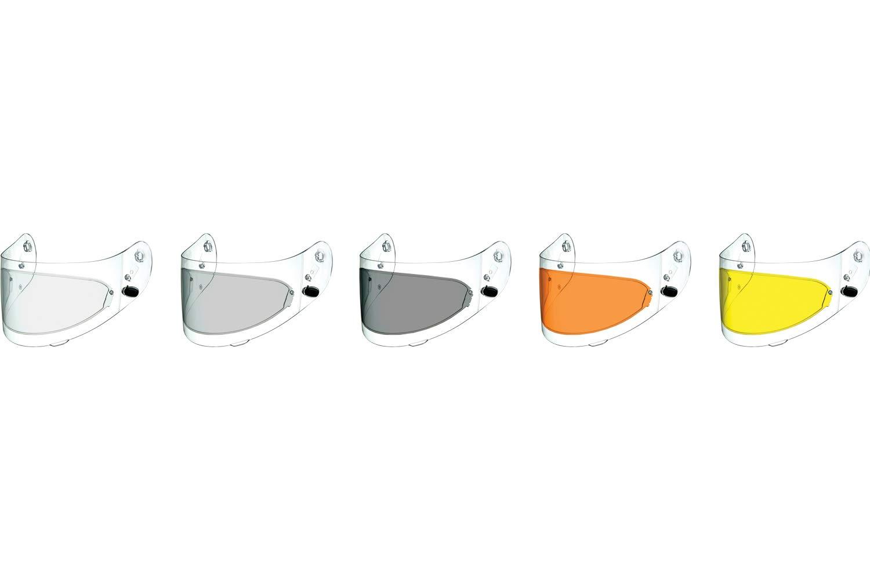 HJC Helmets Clear FG-17 Anti-Scratch Pinlock Shield
