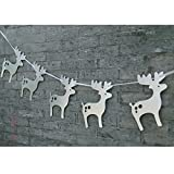 Best 3M Christmas Decorations - Tinksky Christmas Decoration Hanging Banners Moose Garlands Paper Review