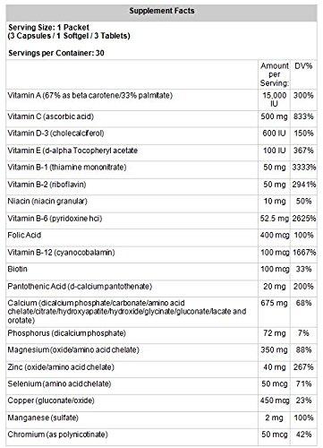 Amazon.com: LifeSource Vitaminas para hombre Ultra diario ...
