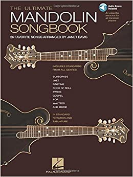 Book The Ultimate Mandolin Songbook: 26 Favorite Songs Arranged by Janet Davis (Book & Online Audio)
