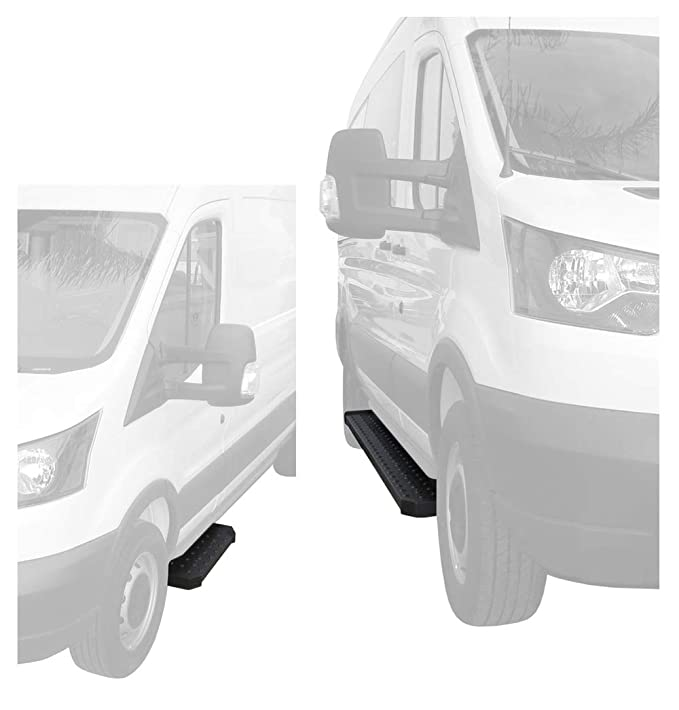 6f92b6eda3 Amazon.com  Tyger Auto TG-RB2F1106B Running Board (for 15-16 Ford Transit Cargo  Van Driver 31