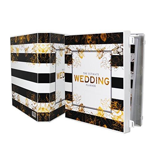 Planning Wedding Folder (UniKeep Keepsake Wedding Planning Binder Kit Organizer - Ultimate Guide for Planning a Wedding)